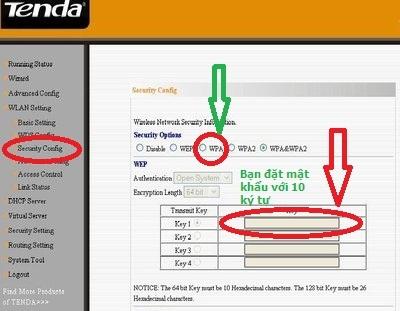 Hướng Dẫn Đổi Pass Modem Wifi Tenda FPT 3