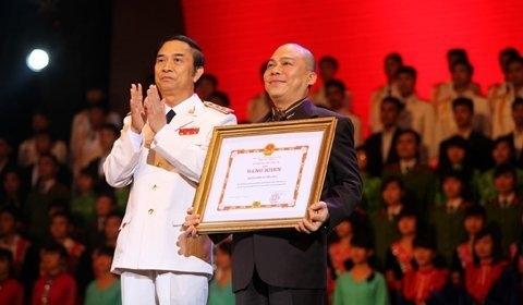 An Viên được Bộ Công an tặng thưởng bằng khen