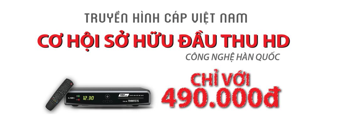 Sở hữu đầu thu HD chỉ với 490.000 của VTVCap