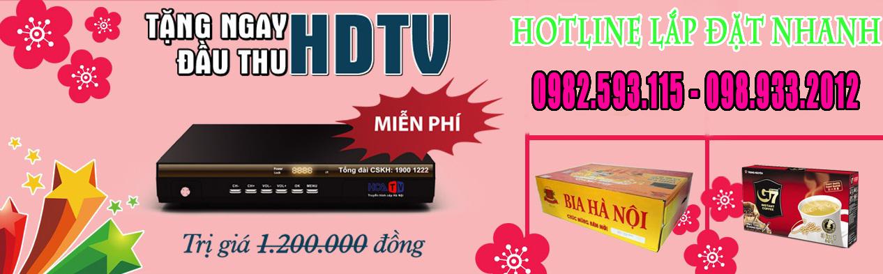 Khuyến mại HOT tháng 3/2015 của truyền hình cáp Hà Nội
