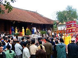 Lễ hội Cổ Loa tại huyện Đông Anh