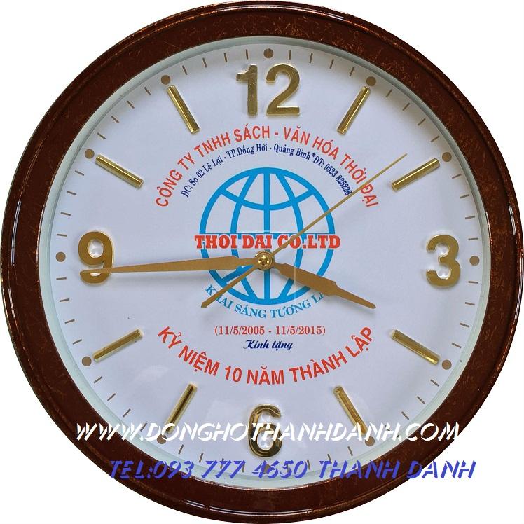 quảng cáo đồng hồ treo tường | đồng hồ treo tường làm quà tặng quảng cáo