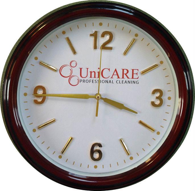 đồng hồ quà tặng quảng cáo | làm quảng cáo trên mặt số đồng hồ treo tường