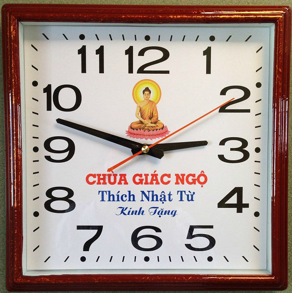 in quảng cáo trên đồng hồ