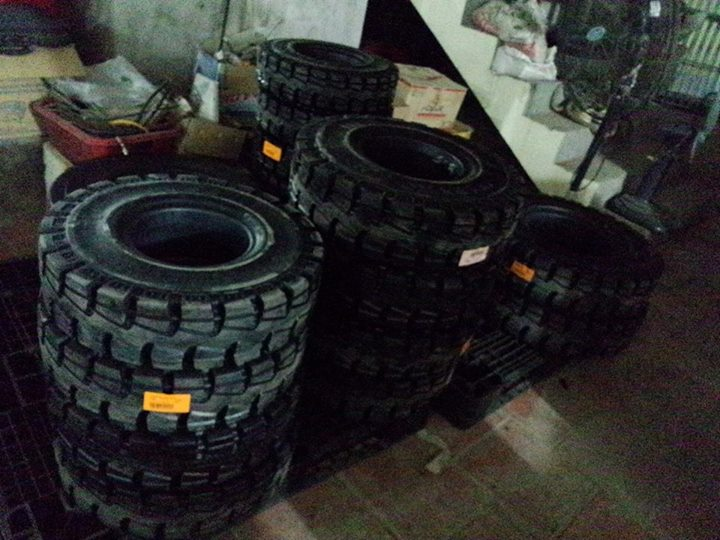 Lốp (vỏ) xe nâng đặc NEXEN Hàn Quốc, sản phẩm lốp đặc được ưa chuộng tại hơn 140 Quốc gia