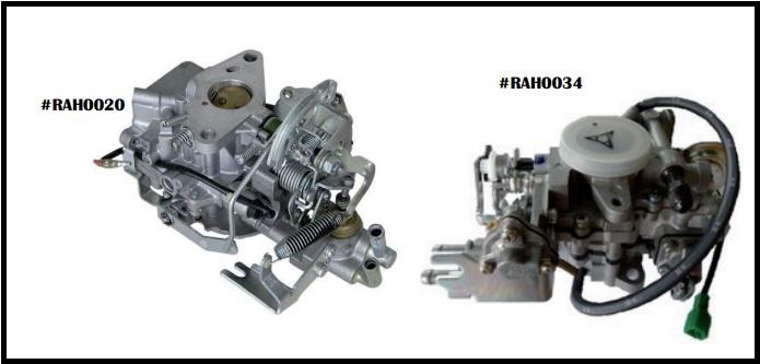 Bộ chế hòa khí cho xe nâng, phụ tùng xe nâng chính hãng cho xe Toyota, Komatsu, TCM...