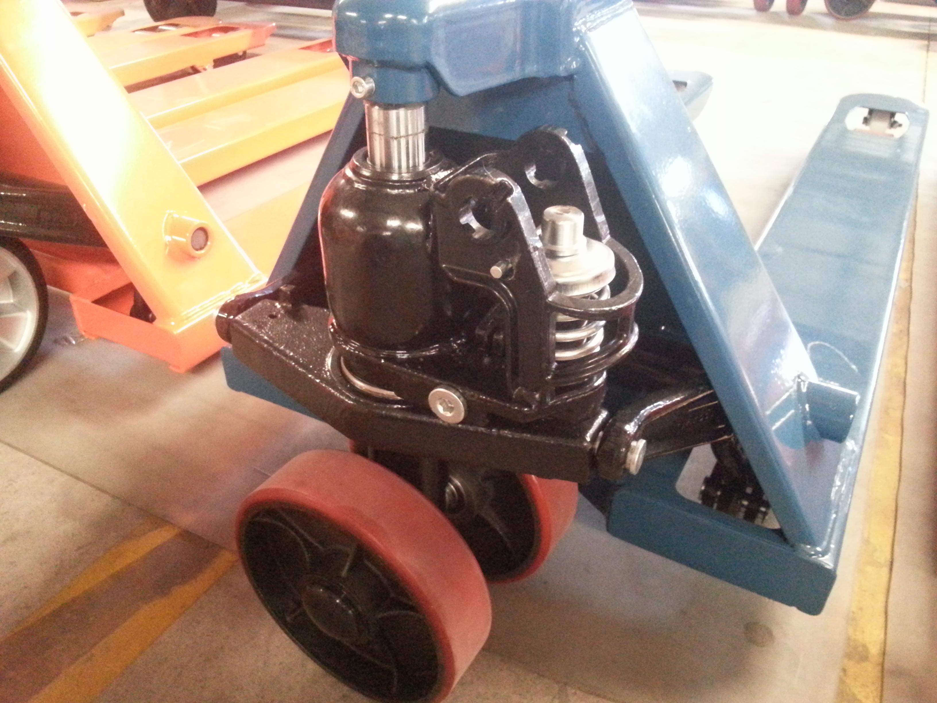 Xe nâng tay thấp D&D với bánh PL siêu bền