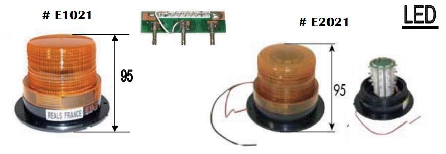 Đèn cảnh báo cho xe nâng hàng loại nhấp nháy, nhập khẩu từ Thái Lan