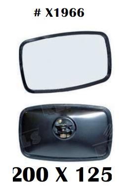 Gương chiếu hậu cho các loại xe nâng hàng, kích thước 200 x 125