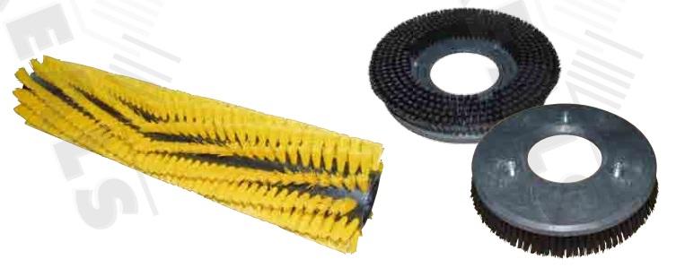 Bàn chải làm vệ sinh cho xe nâng hàng các loại