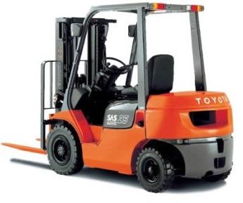 Xe nâng hàng động cơ dầu Toyota chất lượng cao