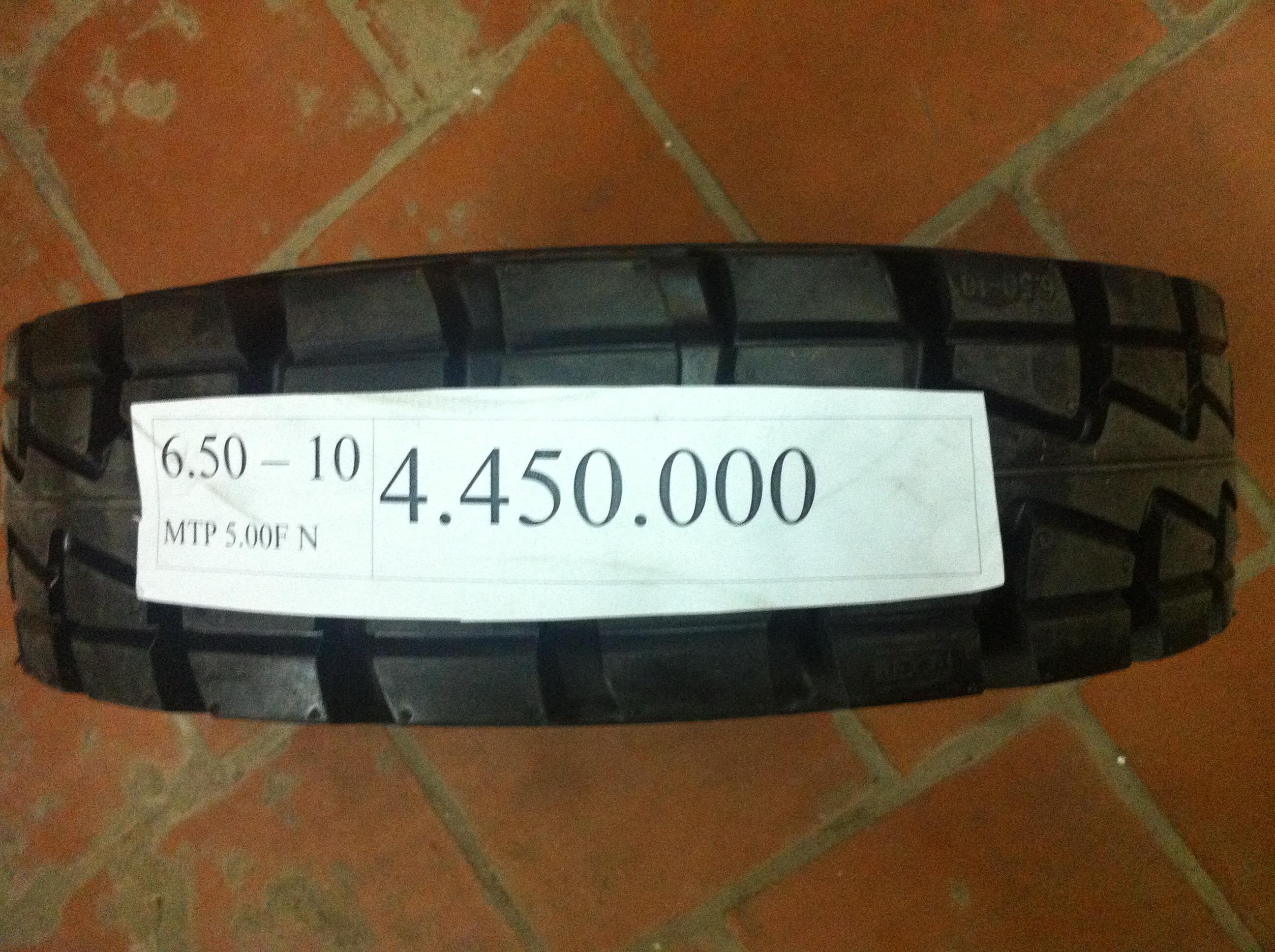 Lốp (vỏ) xe nâng đặc Nexen 650-10 sản xuất tại Hàn Quốc, phân phối duy nhất tại VNE