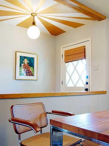 Chọn trần nhà phù hợp màu