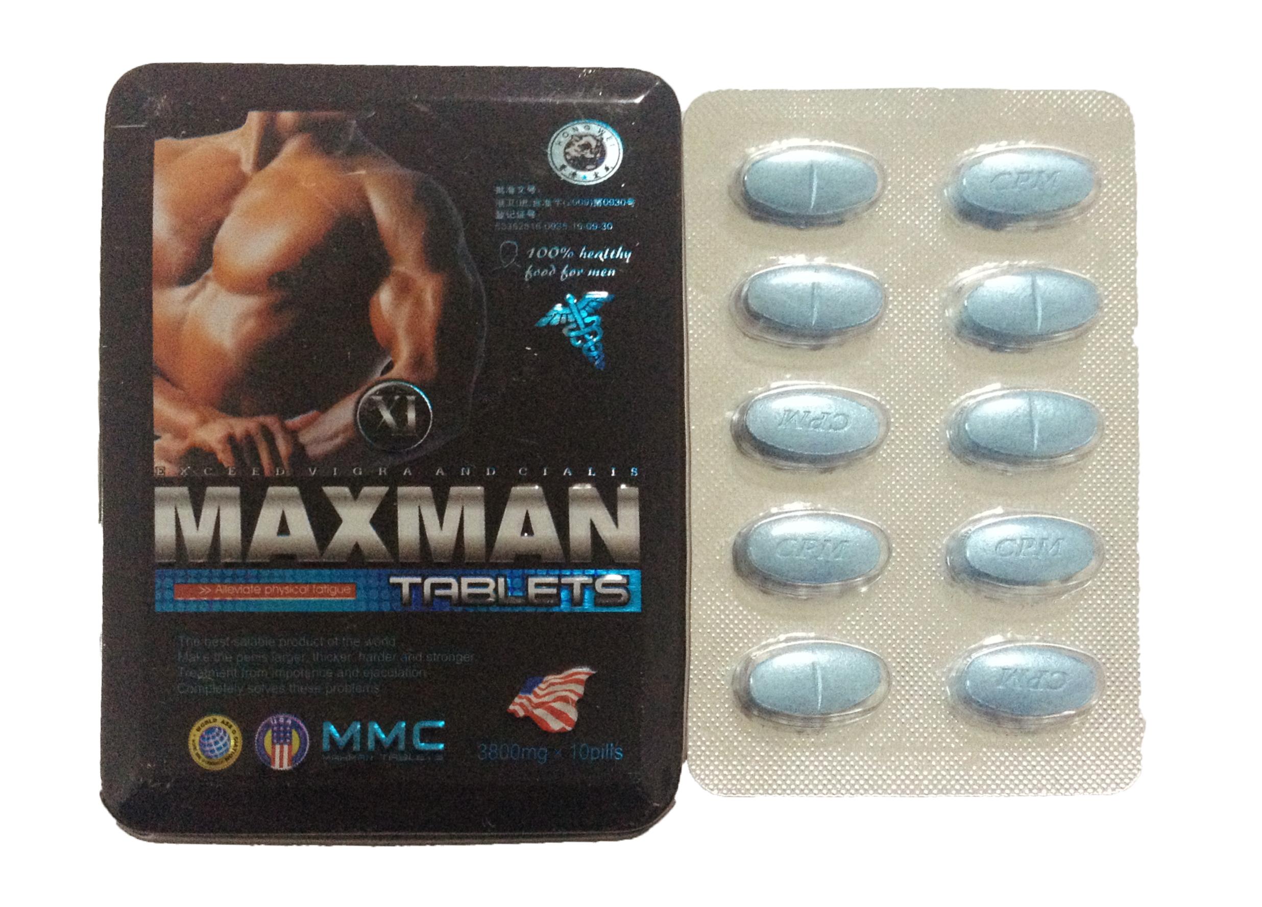 Maxman xi 3800mg