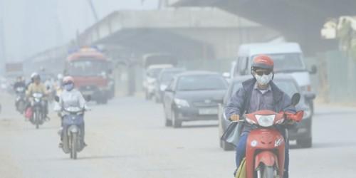 Ảnh hưởng của ô nhiễm không khí