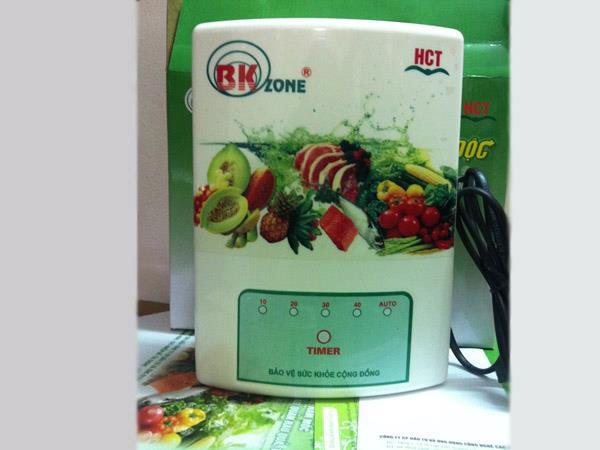 Máy khử độc thực phẩm Bk ozone H02