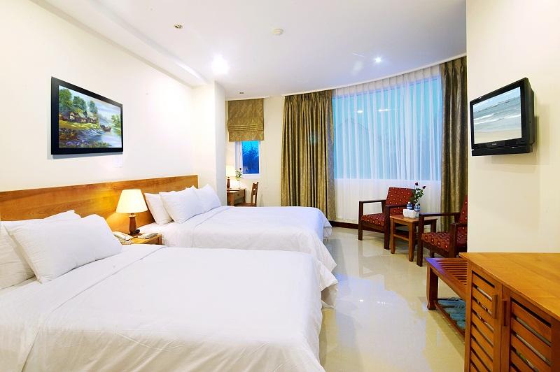 Những can phòng trong khách sạn được khử mùi với máy Ozone