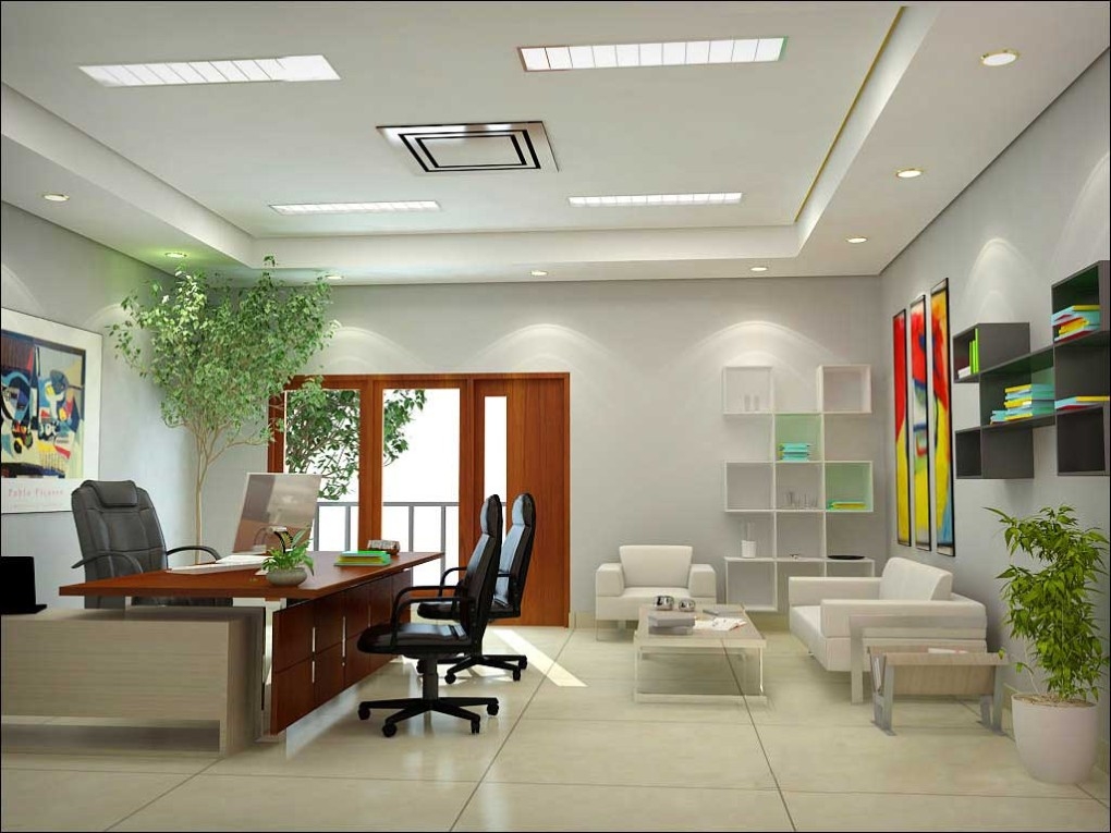 Văn phòng thoáng mát với máy khử mùi Ozone