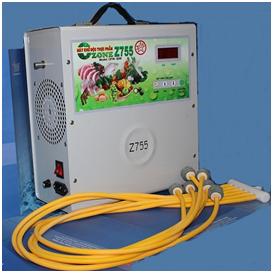 Khả năng tiêu diệt các loại vi khuẩn virus máy ozone Z755