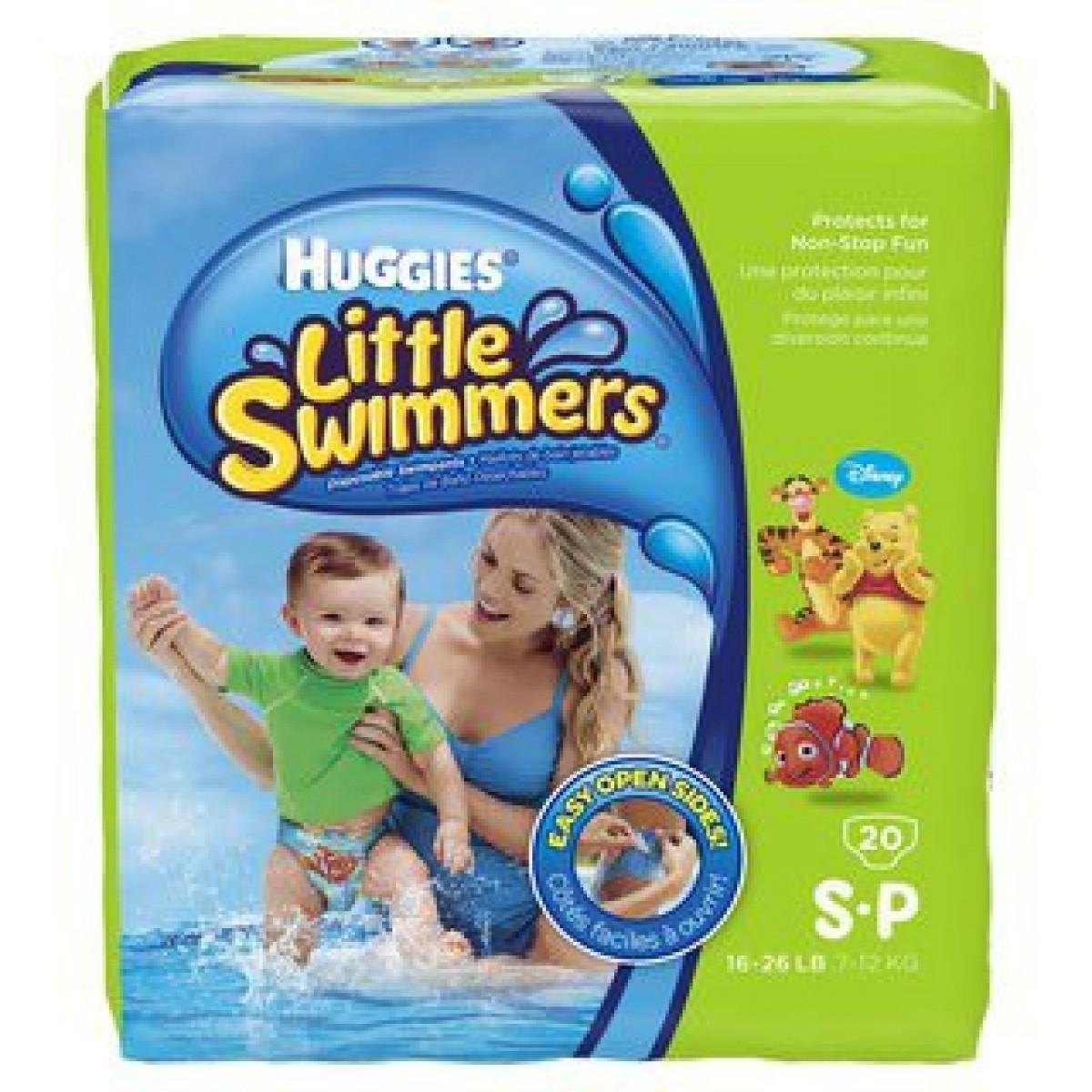 Tã quần dành cho bé đi bơi Huggies đặc biệt