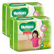 Tã quần Huggies Ultra Pants XL24 girl giá rẻ