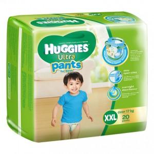 Tã quần Huggies Ultra Pants XL24 boy loại 1