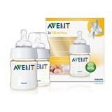 Bộ đôi bình sữa Avent 125ml nhựa PES (BPA free)