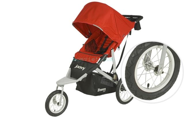 Xe đẩy thời trang, thể thao Zoom 360 Màu đỏ 2