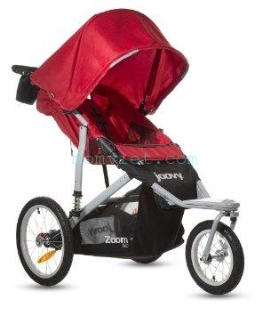 Xe đẩy thời trang, thể thao Zoom 360 Màu đỏ 4