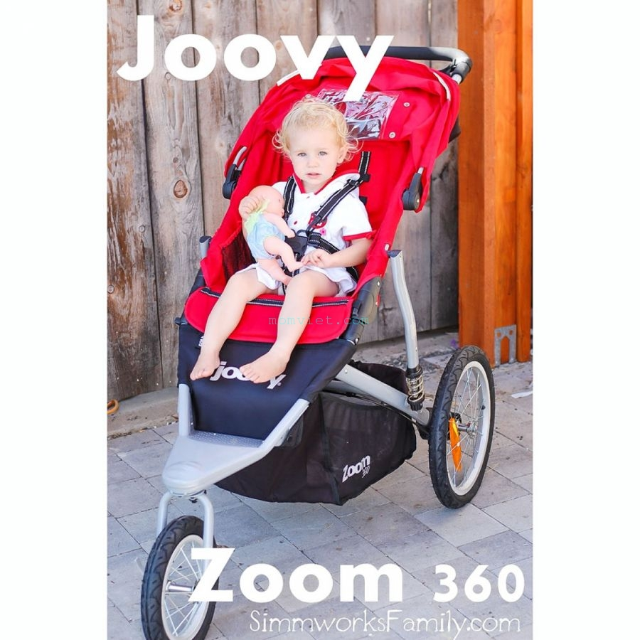 Xe đẩy thời trang, thể thao Zoom 360 Màu đỏ 5
