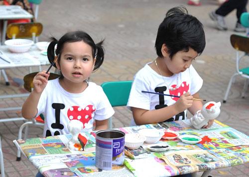 Tô tượng cho trẻ em tại Quận 7 TPHCM