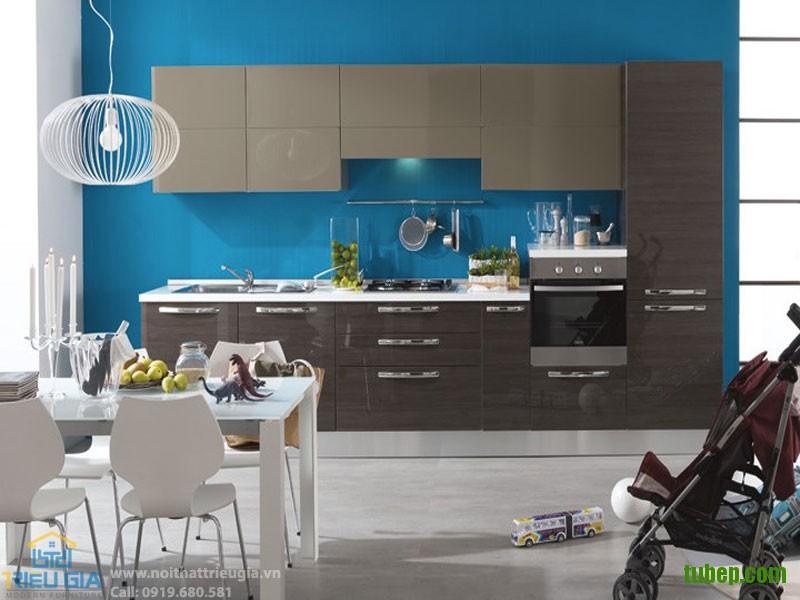 Những mẫu tủ bếp đẹp mê ly cho phòng bếp nhỏ