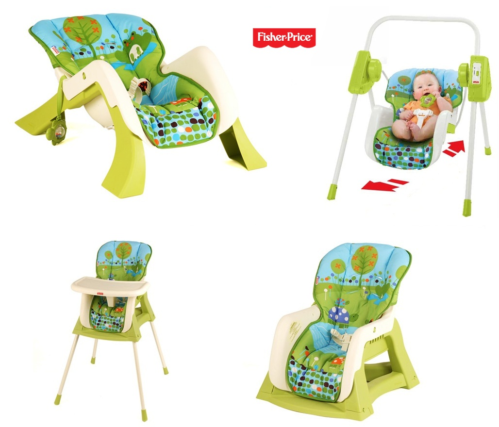 Gh n a n ng 4 in 1 fisher price for Chaise 4 en 1 fisher price