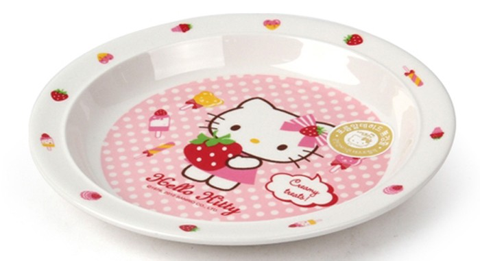 Dia nhua Hello Kitty