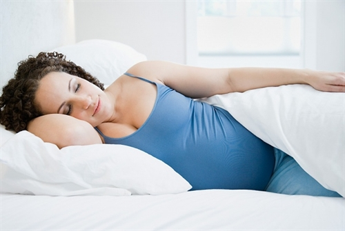 Ngủ ngon khi mang thai