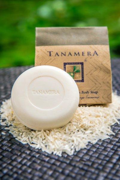 Xà Bông Tắm Gạo và Ca Cao Tanamera