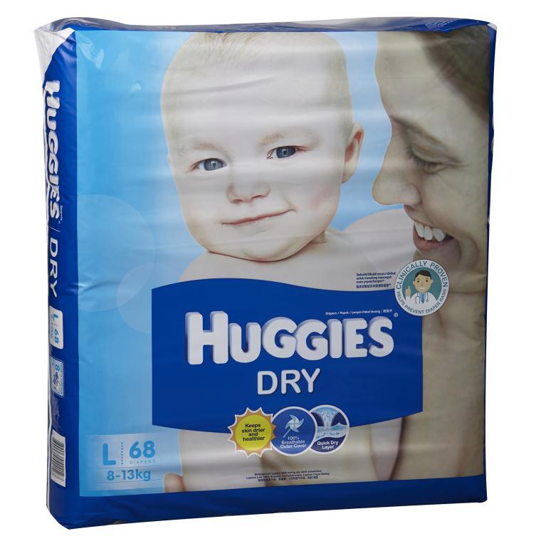 Ta dan HUggiees Dry L