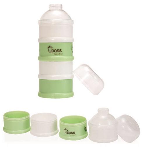 Hộp đựng sữa bột 4 ngăn không BPA Upass (Đài Loan)
