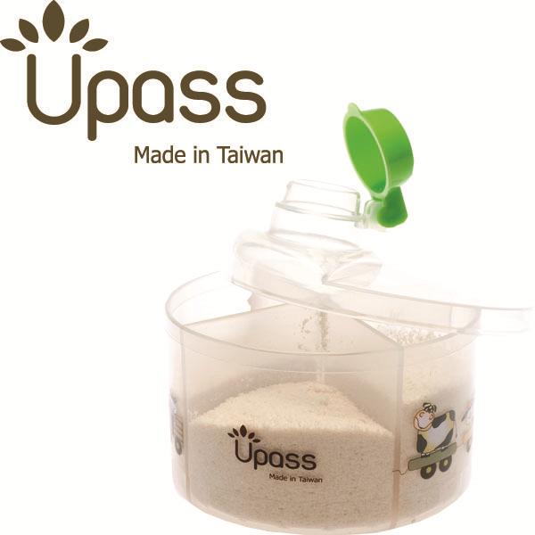 Hộp chia sữa tròn không BPA Upass (Đài Loan)