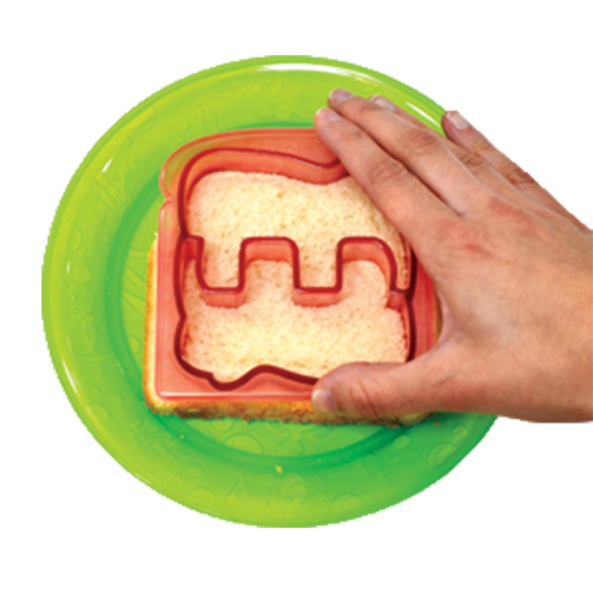 Cắt sandwich ngộ nghĩnh Silly Sandwich Cutters - Asstd