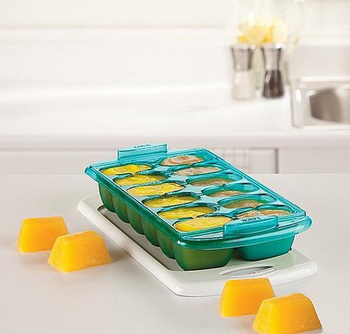 Khay trữ đông có nắp (2c) 2pk CL FF Freezer Tray Turq