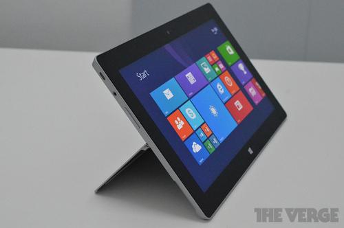 Ảnh thực tế Surface 2 và Surface Pro 2