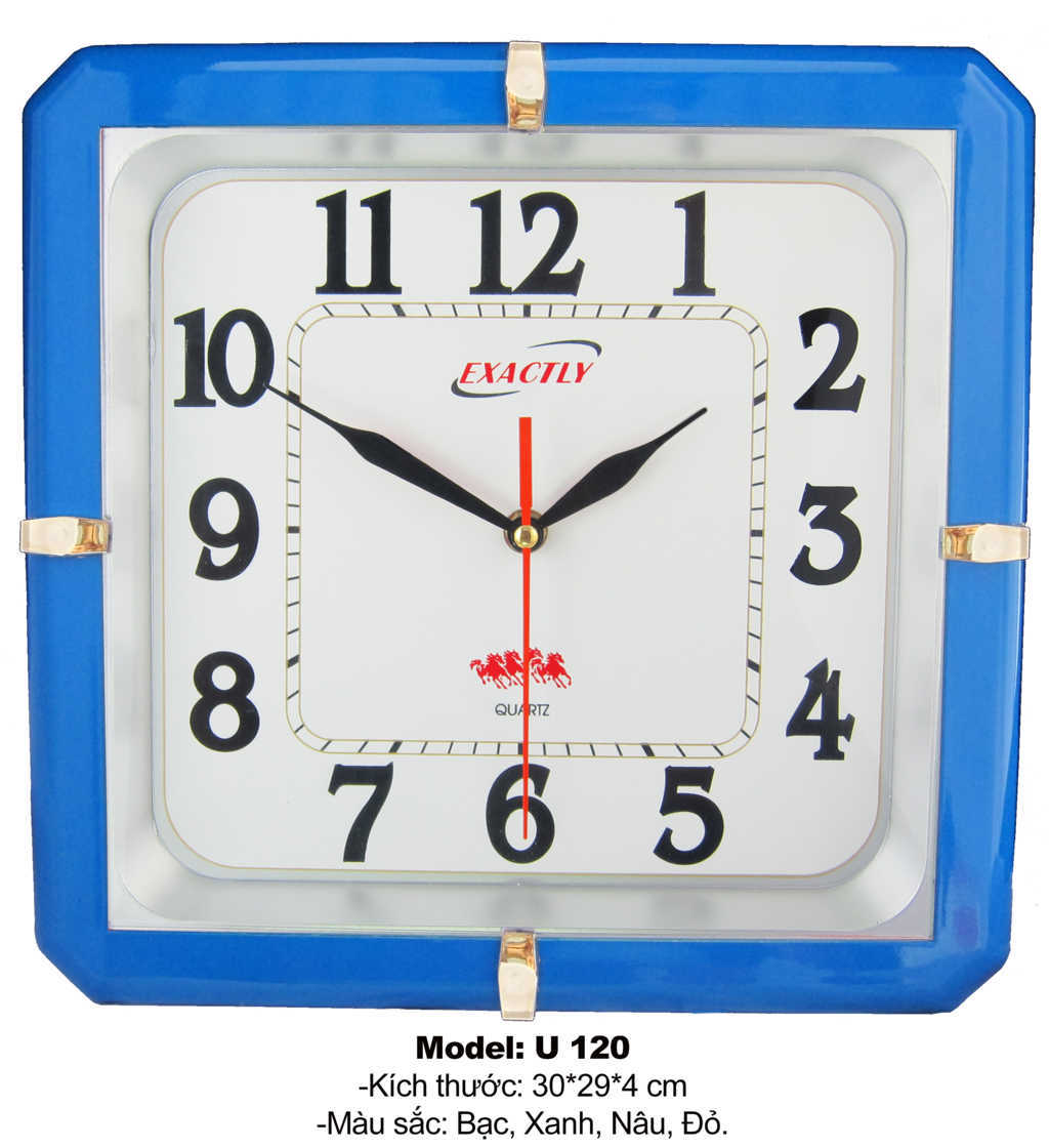 đồng hồ treo tường U120 | dong ho treo tuong U120