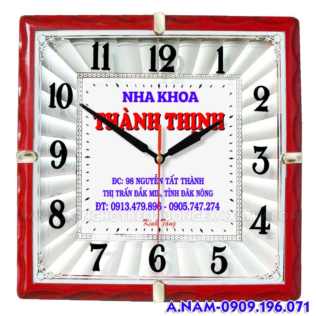 đồng hồ treo tường nha khoa Thành Thịnh