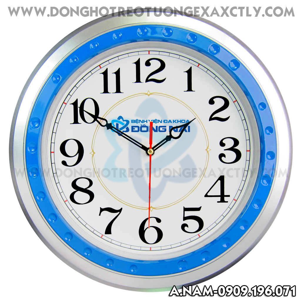 đồng hồ treo tường bệnh viện Đồng Nai