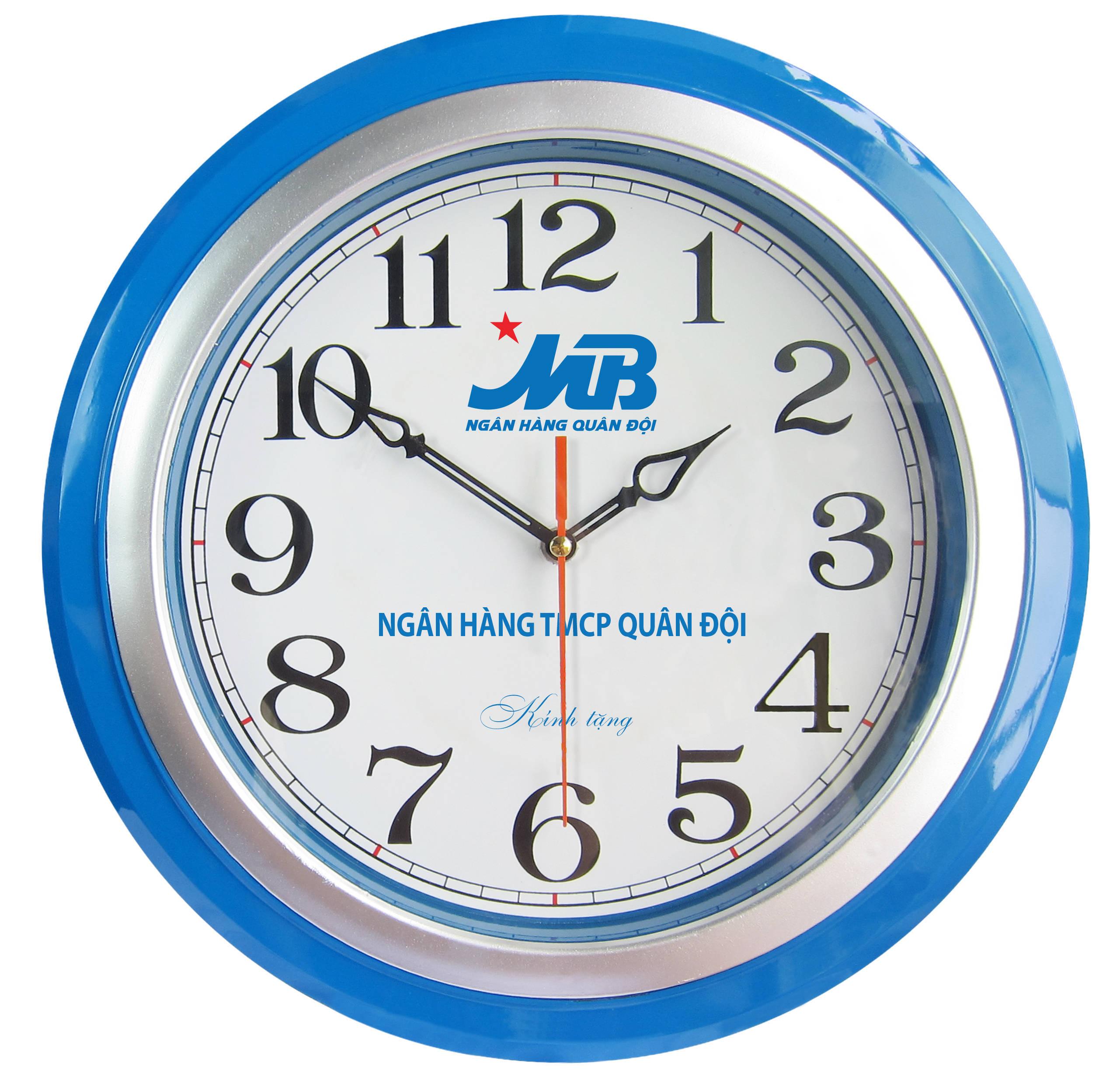 đồng hồ treo tường MB Bank