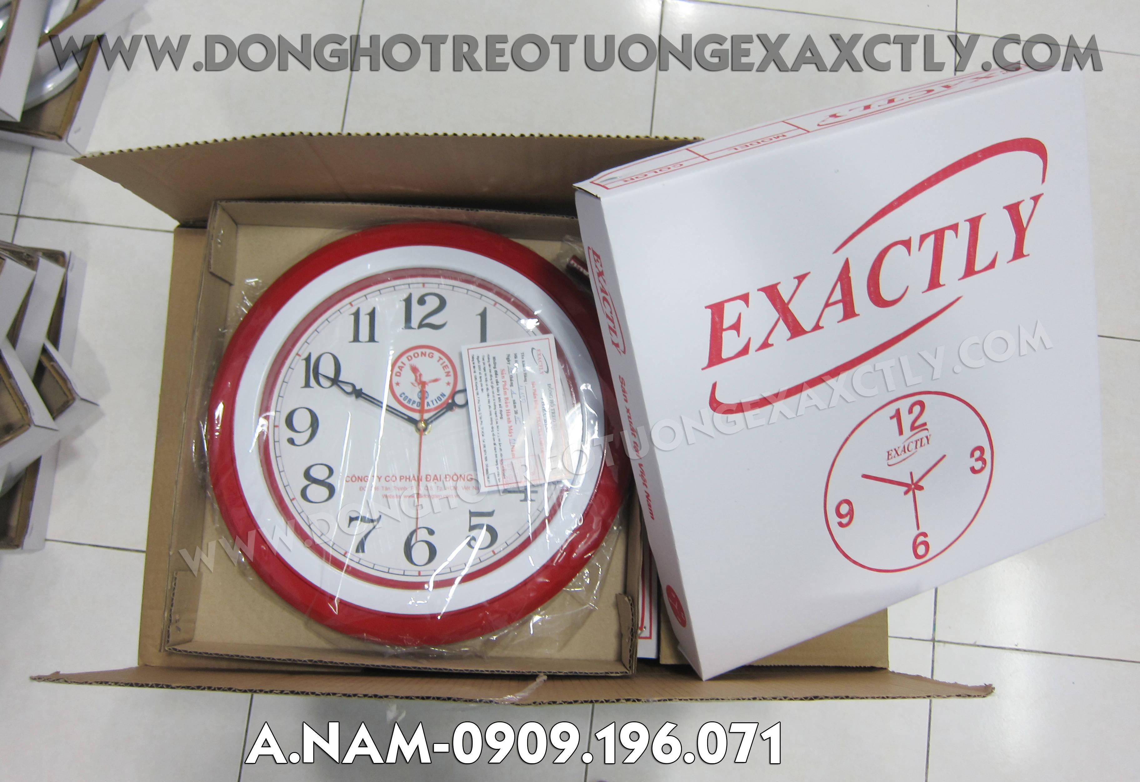 Đồng hồ treo tường Nhựa đại đồng tiến