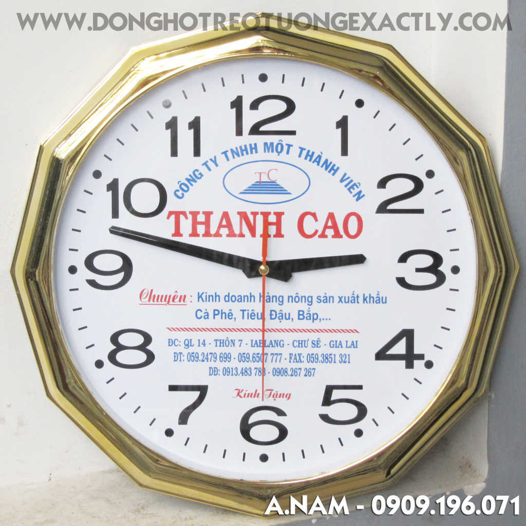 đồng hồ treo tường đẹp cao cấp - dong ho treo tuong dep cao cap