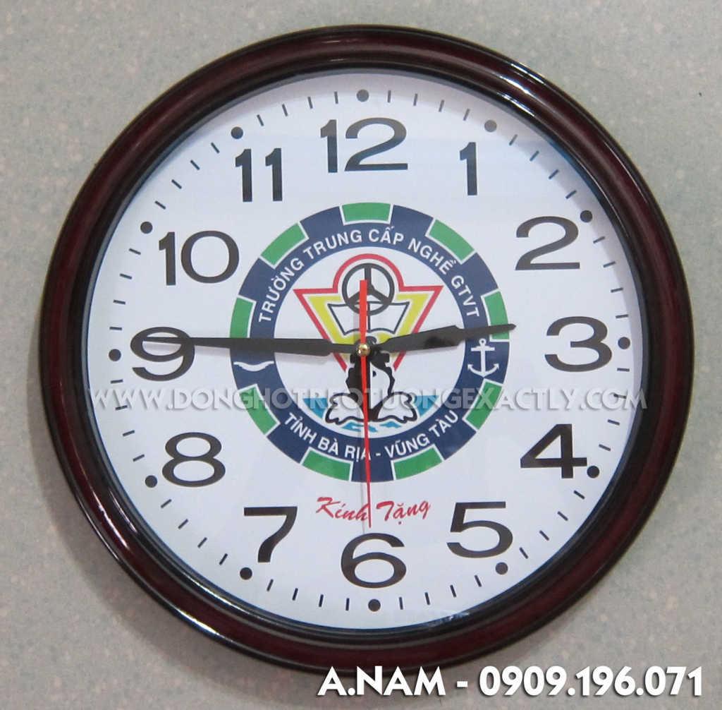 đồng hồ treo tường trường trung cấp nghề | dong ho treo tuong