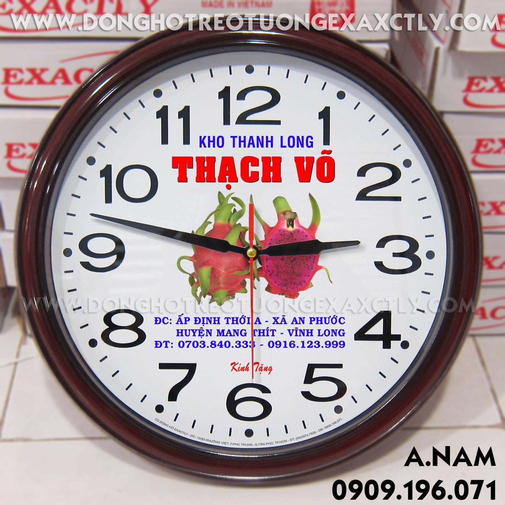 đồng hồ treotường Thanh Long Thạch võ